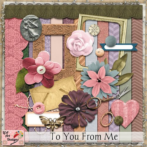Daily download To You From Me minikit by LEA Art Design