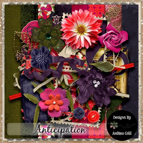 Daily Download Anticipation kit by Andrea Gold