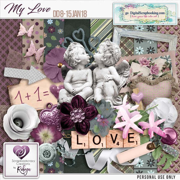 Designer Spotlight 8-15 Jan 2018: ScrapbookCrazy Creations by Robyn