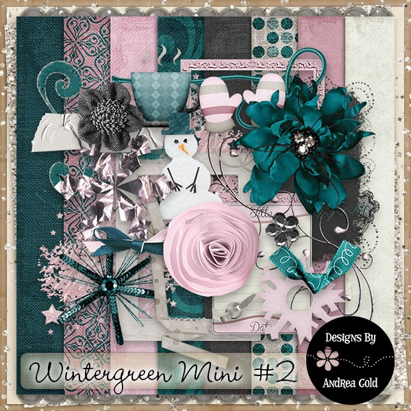 New Daily Download Wintergreen mini2 by Andrea Gold