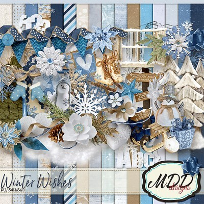 Winter Wishes kit by MDD Designs