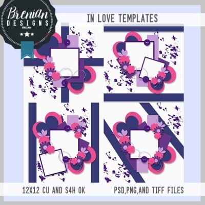In Love Templates by Brenian Designs