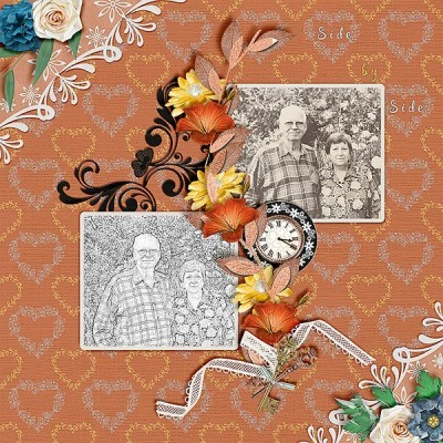 Forever Singing Daily Download Feb 24-28 by Patty B Scraps