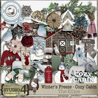 Winter's Freeze – Cozy Cabin Collection by Studio4 Designworks