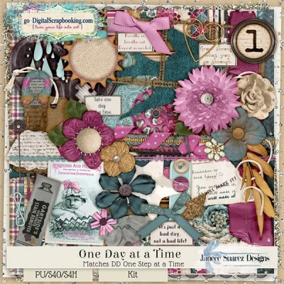 One Day at a Time by Janece Suarez Designs