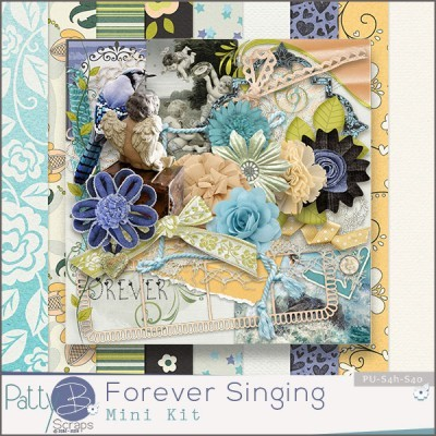 Forever Singing Feb 24-28 Daily Download by Patty B Scraps