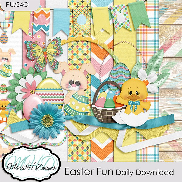 Easter Fun by Marie H Designs