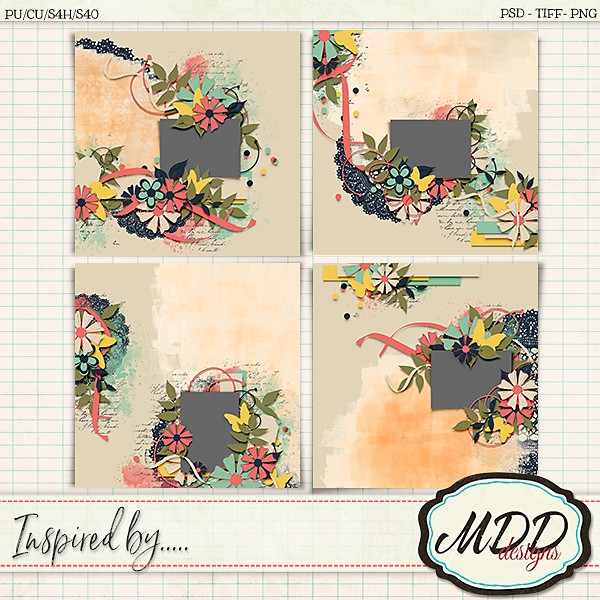 Inspired by…. template set by MDD Designs