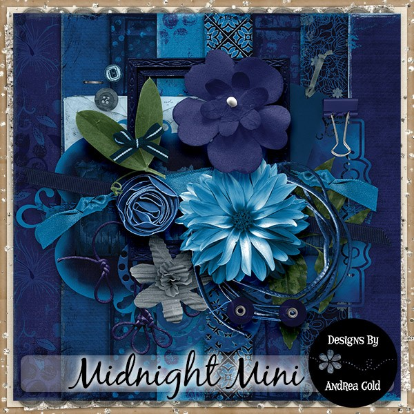 Midnight Mini DD By Andrea Gold
