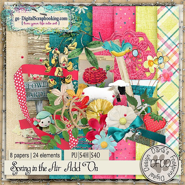 Spring is in the Air by Dana's Footprint Digital Designs
