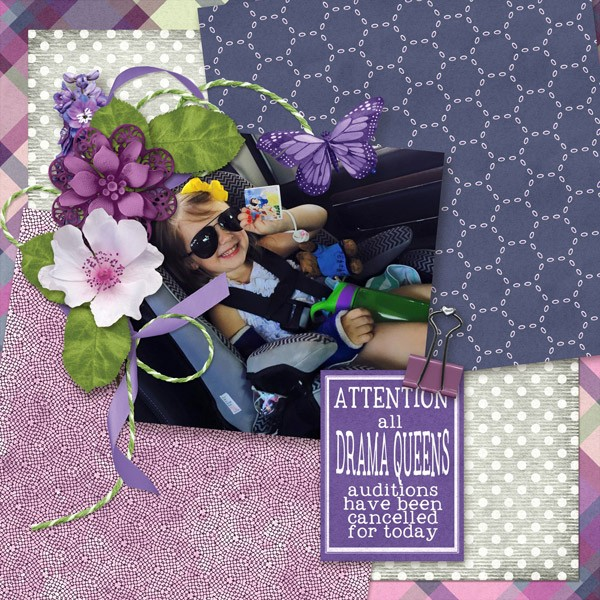 Drama Queen by Scrapbookcrazy Creations by Robyn – Designer Spotlight!