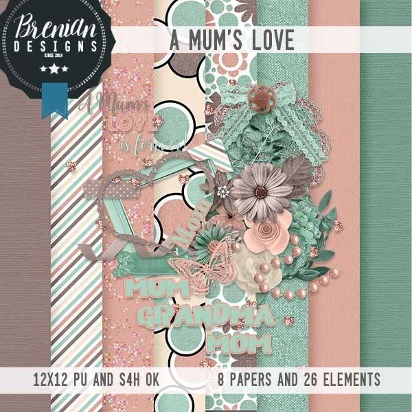 A Mum's Love by Brenian Designs