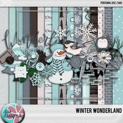 Winter Wonderland kit by Dae Designs