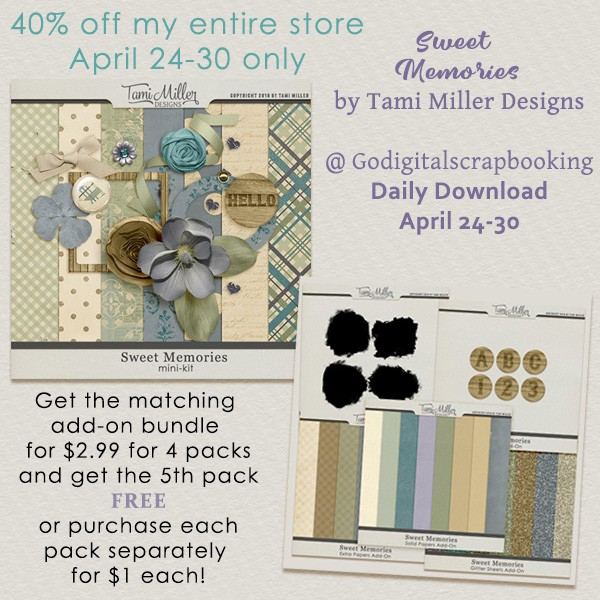 New Designer Spotlight: Sweet memories by Tami Miller Designs