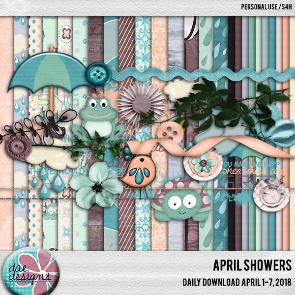 April Showers Daily Download and Spotlight Designer