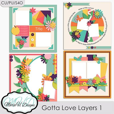 Gotta Love Layers Vol. 1