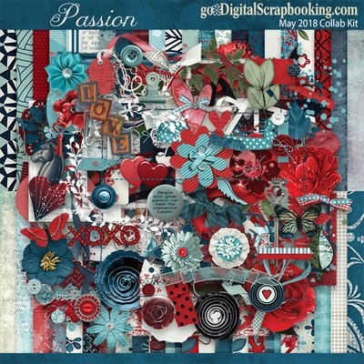 Passion – May 2018 Monthly Collab Kit