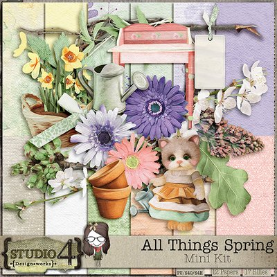 All Things Spring by Studio4 Designs Works