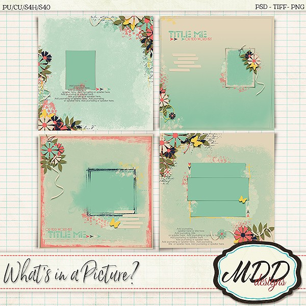 What's in a Picture? by MDD Designs and Exhilaration by Andrea Gold