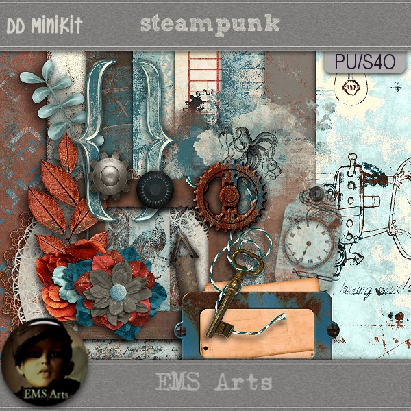 EMS Arts – Steampunk Mini 2018 Daily Download