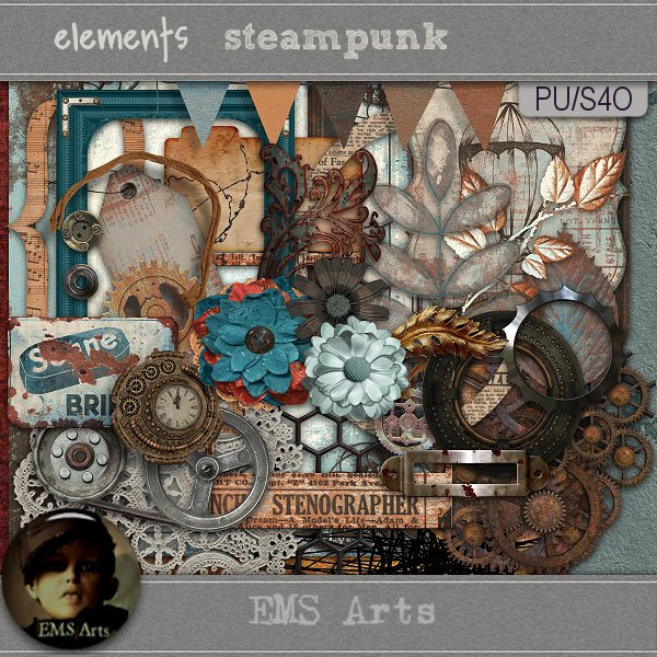 Steam Punk Daily Download by EMS Arts