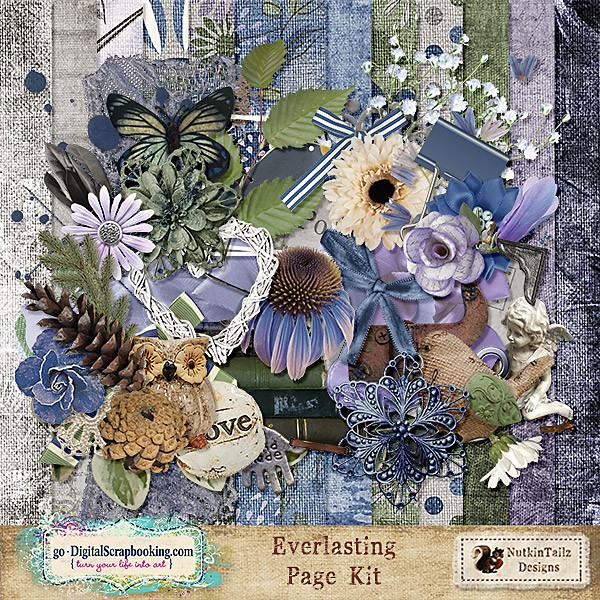 Everlasting by Nutkin Tailz Design