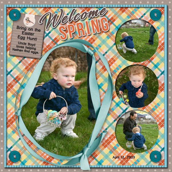 Welcome Spring by Scrapbookcrazy Creations