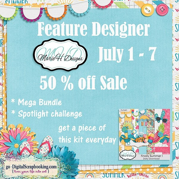 Designer Spotlight – MarieH Designs and new release