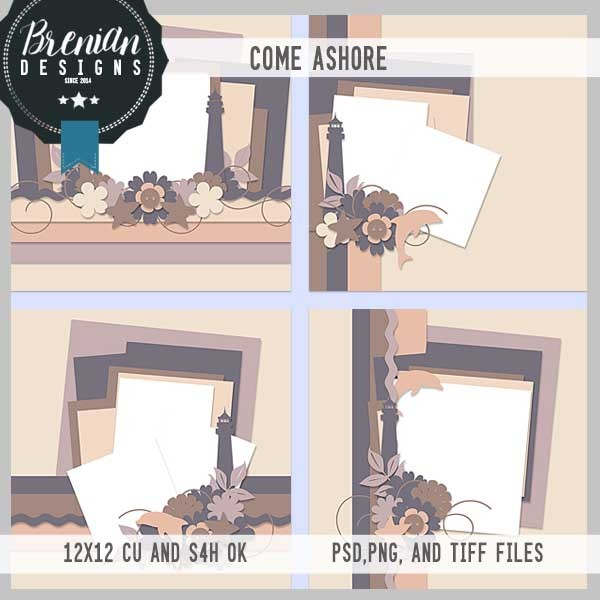 Brenian Designs – Come Ashore Templates