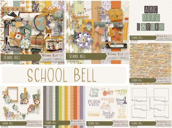 School Bell Colection Bundle by Arizona Girl