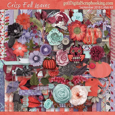 Crisp Fall Leaves – September 2018 Monthly Collab Kit