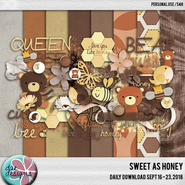 Daily Download – Dae Designs – Sweet as Honey