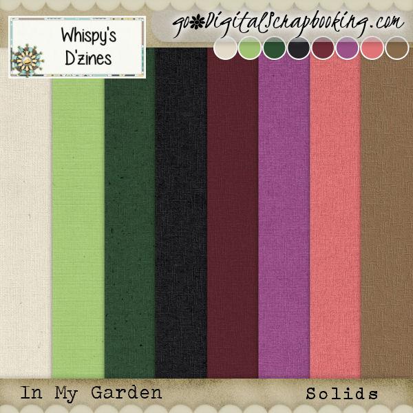 Whispy's D'zines – In My Garden