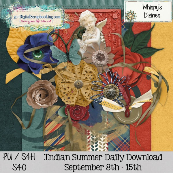Indian Summer Daily Download Sept 8-15 by Whispy's D'Zines