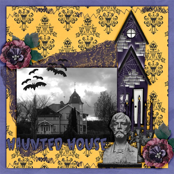 Designer Spotlight Arizona Girl and daily download Haunted House mini