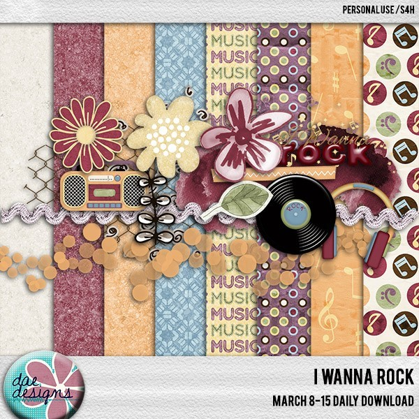 Dae Designs- I Wanna Rock, Daily Download mini