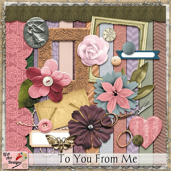 To You From Me by LEA Art Designs