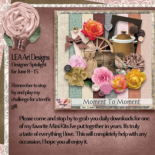 Moment to moment by LEA Art Design